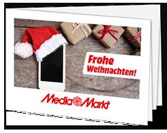 """Geschenkkarte """"Xmas 1"""" Sofortdruck"""